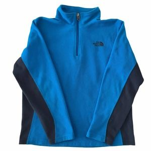 The North Face Quarter Zip Fleece Sweater Large